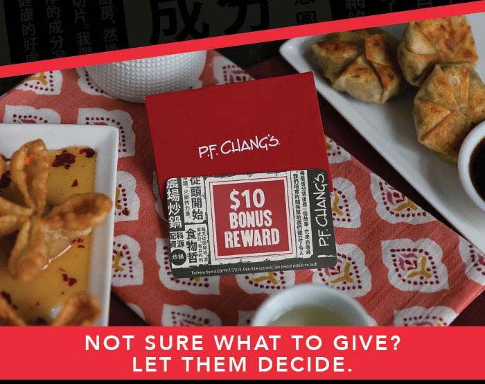NOT SURE WHAT TO GIVE? LET THEM DECIDE.